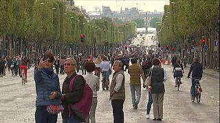 Paris ohne Autos