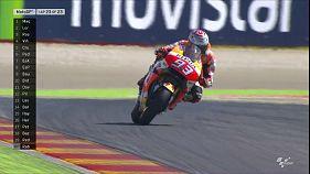 Vitória de Marc Márquez, em Aragão, aproxima-o do 3º título mundial, Nicky Hayden regressou à MotoGP