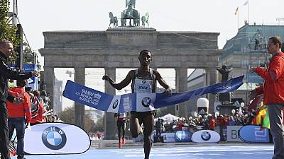 Bekele narrowly misses world record after victory in the Berlin Marathon