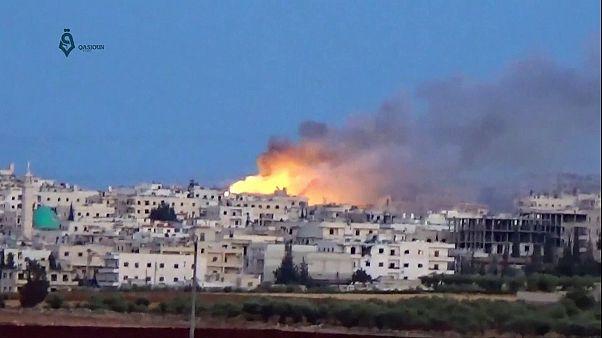 «Ερείπια» το Χαλέπι: Σφοδροί βομβαρδισμοί και μάχες
