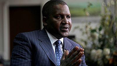 Africa's richest man Aliko Dangote is not dead