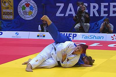 Russia wins most medals at Zagreb Judo Grand Prix