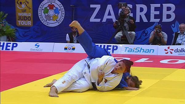 """Григорьев и Бисултанов принесли России два """"золота"""" в последний день Гран-при по дзюдо в Загребе"""