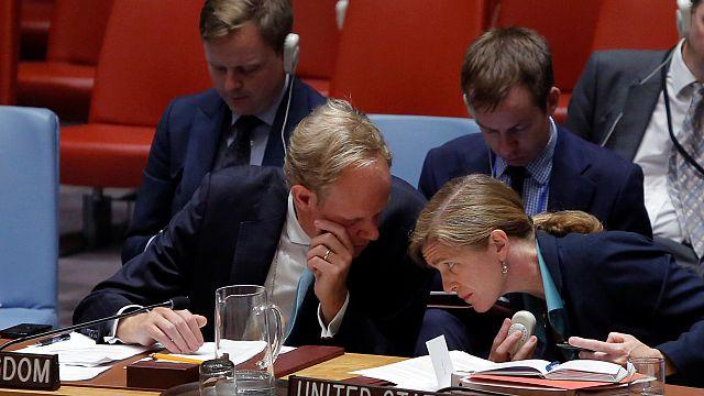 Совбез ООН: жёсткие обвинения в адрес России со стороны США, Великобритании и Франции