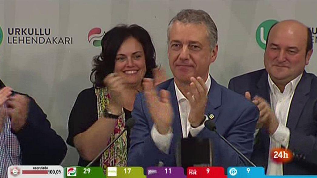 Las elecciones vascas y gallegas no desbloquean el escenario político en Madrid