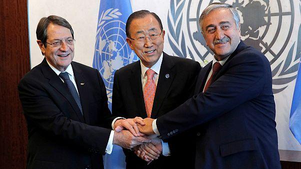 Los líderes chipriotas se reúnen en la ONU para hablar de la reunificación
