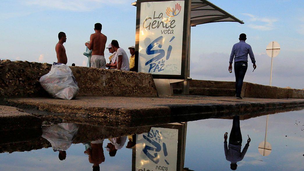 Friedensvertrag in Kolumbien