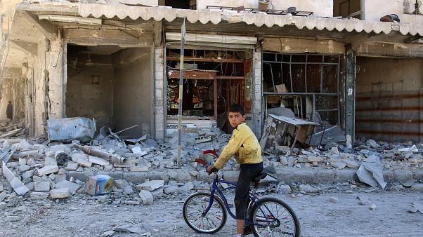 Χαλέπι: Μαίνονται οι σφοδροί βομβαρδισμοί