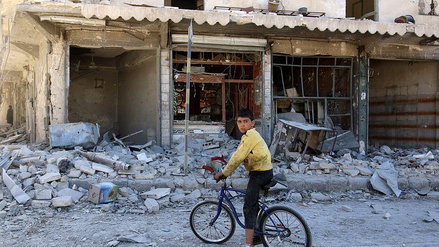 Un diluvio de bombas sobre Alepo