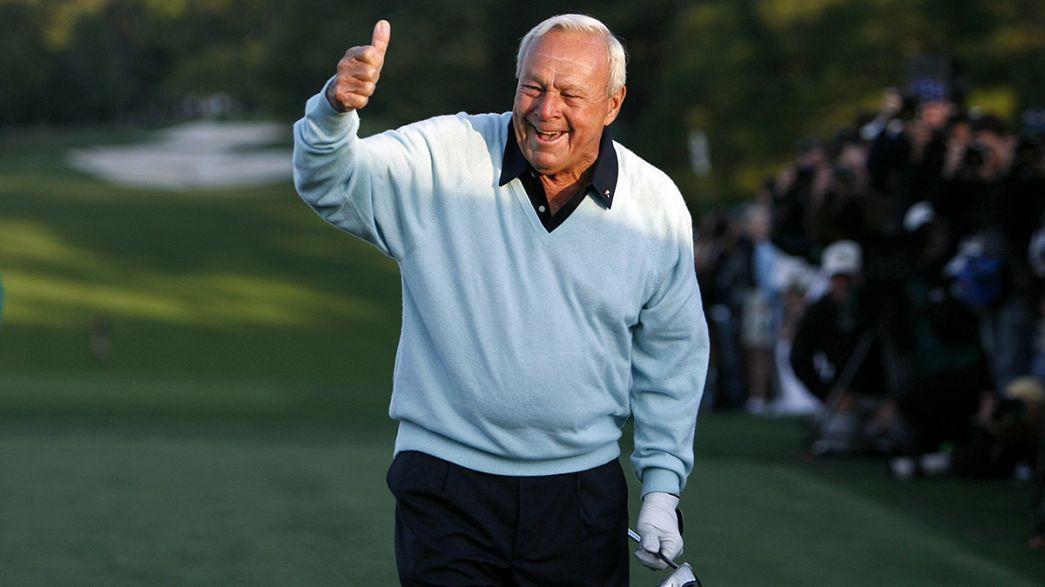 Morreu Arnold Palmer, o homem que popularizou o golfe