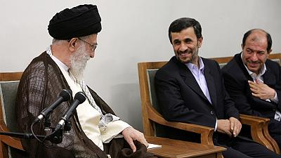 Iran's supreme leader tells Ahmadinejad not to run again for president
