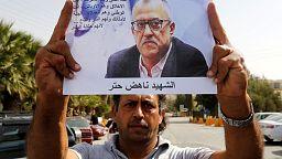 Jordanians condemn slaying of cartoonist Nahed Hattar