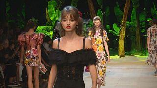 إبداعات إيطالية في أسبوع الموضة في ميلانو
