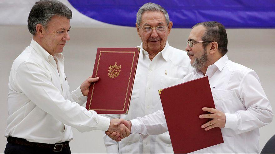 Paix en Colombie : Santos, Timochenko, des faucons devenus colombes