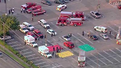 إصابة 9 أشخاص خلال إطلاق نارفي مركز تجاري في هيوستون بولاية تكساس