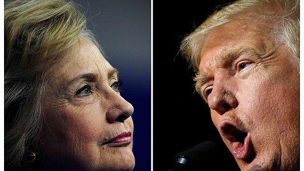 نگرانی بازار بورس نیویورک درآستانه مناظره بین ترامپ و کلینتون