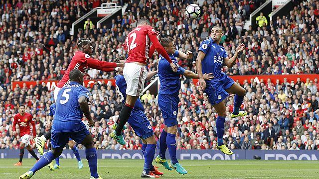 Rooney sitzt, Pogba trifft: Manchester Uniteds 4:1 gegen Meister Leicester