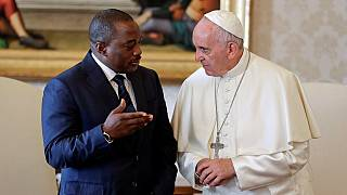 DRC unrest tops agenda as Kabila meets Pope in private visit