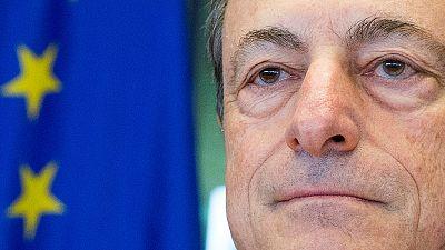دراغي: اقتصاد منطقة اليورو بقياً مقاوماً خاصة مع قرار بريطانيا الخروج من الاتحاد الاوروبي