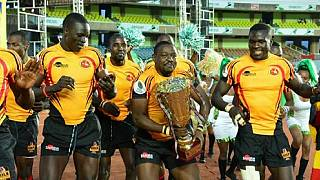 Uganda Defeats Namibia to lift rugby 7s Africa cup
