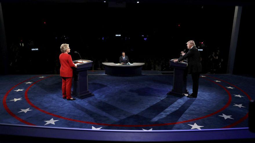 EN DIRECTO| Debate Clinton-Trump. Véalo en Euronews