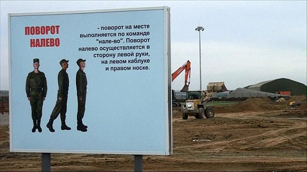 New Russian military base 100km from Ukraine 'almost ready'