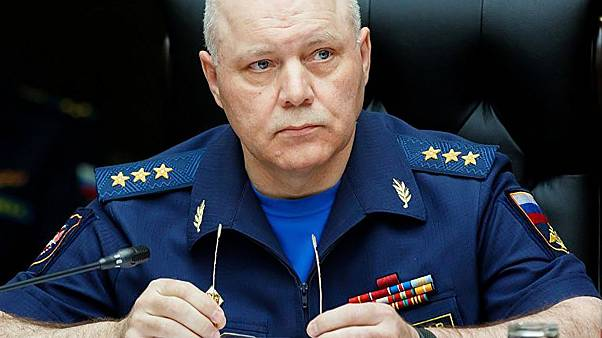 Image: Igor Korobov, the head of the Main Directorate of the General Staff