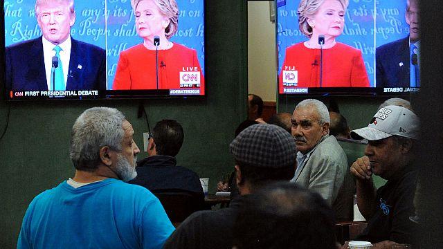 Universitarios en Washington dan su visión del debate Clinton-Trump