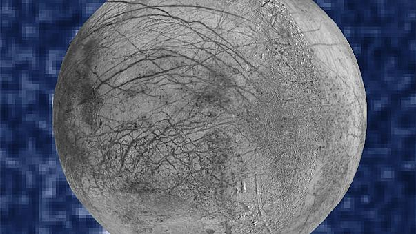 """اكتشافُ دليلٍ على وجود رذاذ بخار ماء في قمر """"يوروبا"""" التابع لكوكب المشتري"""