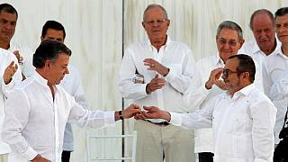 Colombia signs peace deal with the Farc rebels