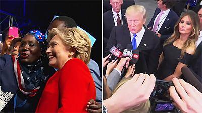 EEUU: Los dos candidatos se proclaman ganadores del primer debate