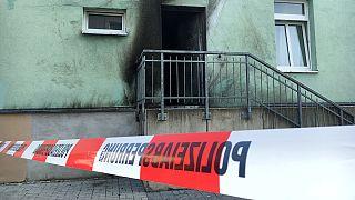Zwei Sprengstoffanschläge in Dresden: Moscheetür demoliert
