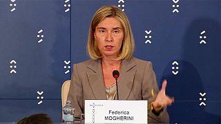 Mogherini asegura que la defensa europea no compite con la OTAN