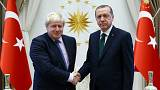Turchia, prima visita ufficiale per Boris Johnson