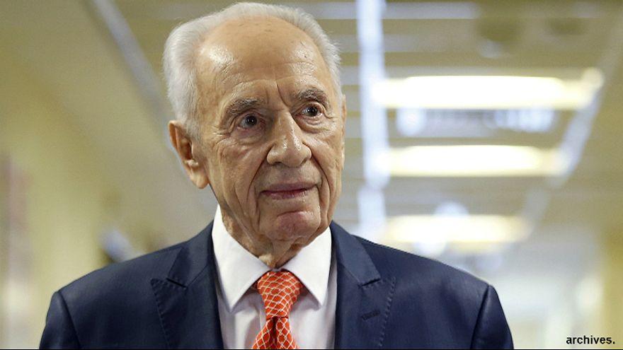Schimon Peres liegt im Sterben