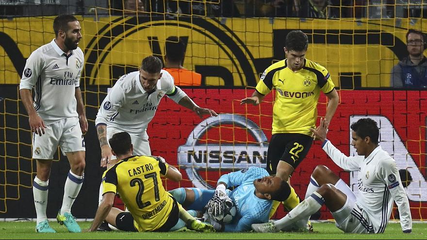 Real Madrid held by Dortmund as Leicester City continue perfect start to debut Champions League campaign