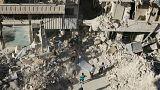 Halep'te kuşatma altındaki siviller ölümü bekliyor