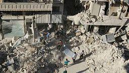 """"""" No where to hide"""" - volunteer describes conditions inside Aleppo"""