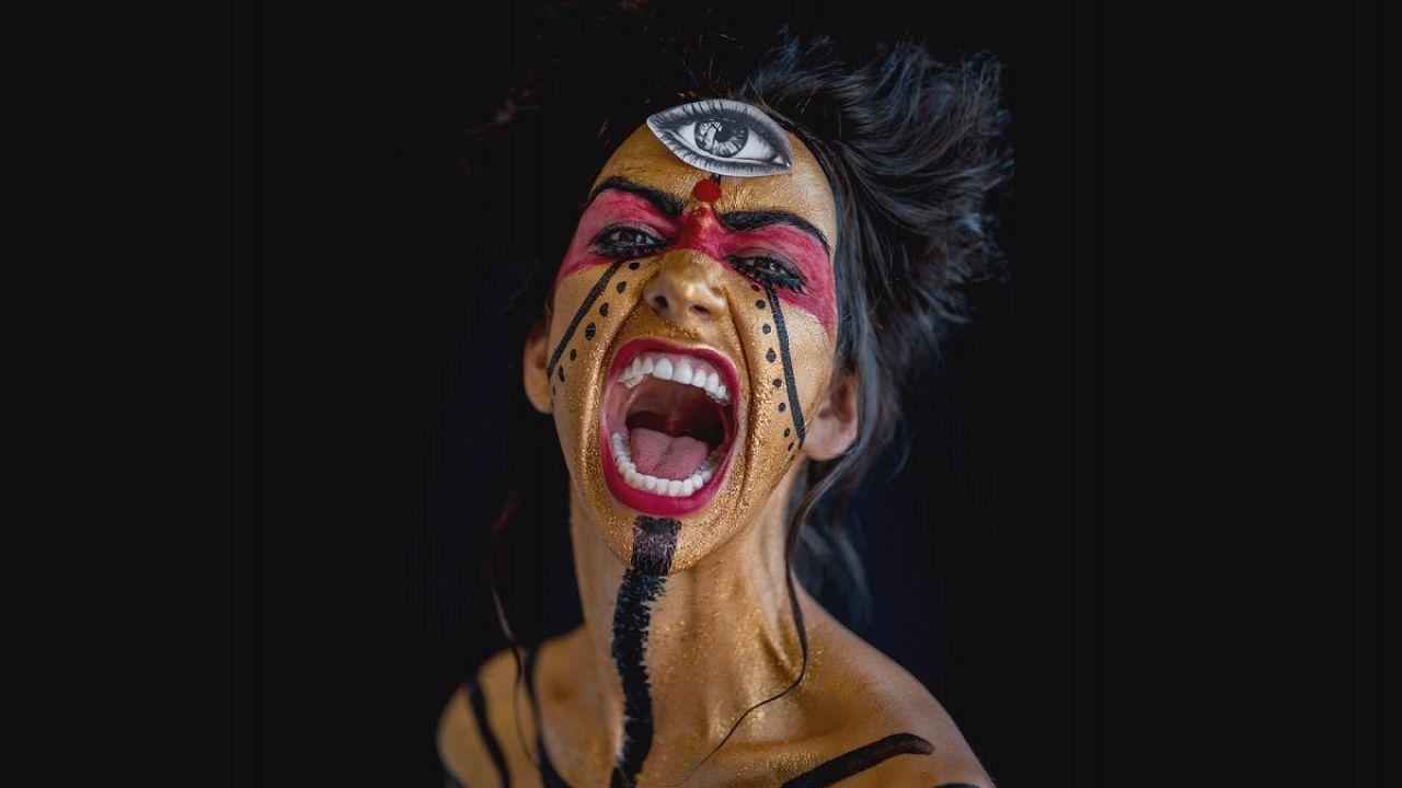 A test, mint festővászon Eric Ceccarini objektívjén keresztül