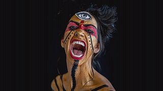 Pittura su corpo, la bellezza secondo Eric Ceccarini