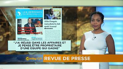 Revoir la revue de presse du 28-09-2016 [The Morning Call]