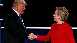 Clinton vs Trump - Round One
