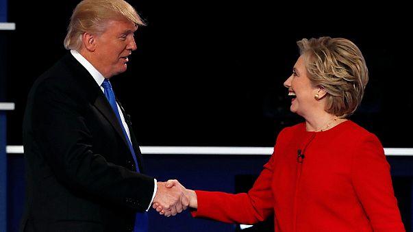 كلينتون في مواجهة ترامب: الجولة الاولى