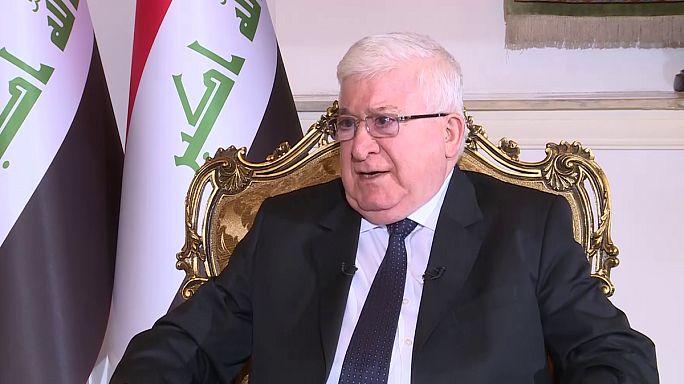 """الرئيس العراقي د. محمد فؤاد معصوم : """"لابد من اجراء مصالحة مجتمعية"""""""