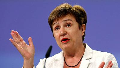 Bulgaria backs EU's Georgieva to be next UN chief
