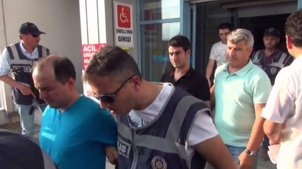 32 ألف شخص اعتُقلوا على خلفية محاولة الانقلاب على إردوغان...مصير فتح الله غولن سيتضح خلال أيام