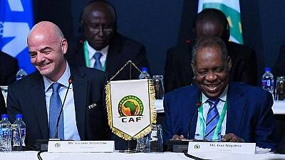 FIFA boss in Egypt for CAF's Extraordinary General Assembly