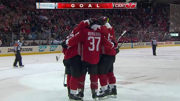 World Cup of Hockey: Canada beat Team Europe to take the lead in best of three final