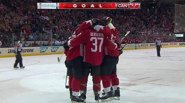 جام جهانی هاکی روی یخ؛ کانادا یک گام به قهرمانی نزدیک شد