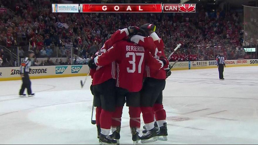 Канада обыграла Европу в первом матче финальной серии Кубка мира